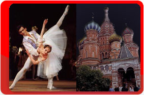 Moscow Ballet, travel company Vympel-tour, the X International competition of ballet dancers choreographers.