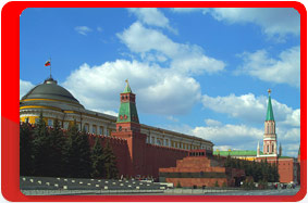 Russia, Moscow, Lenin's mausoleum
