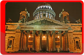 Russia, Saint Petersburg, St. Isaac's Cathedra